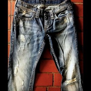 Victoria's Secret London Jeans Distressed